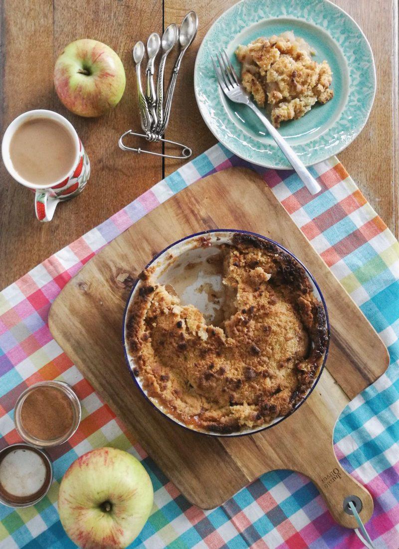 Recipe || Granny's Apple Crumble