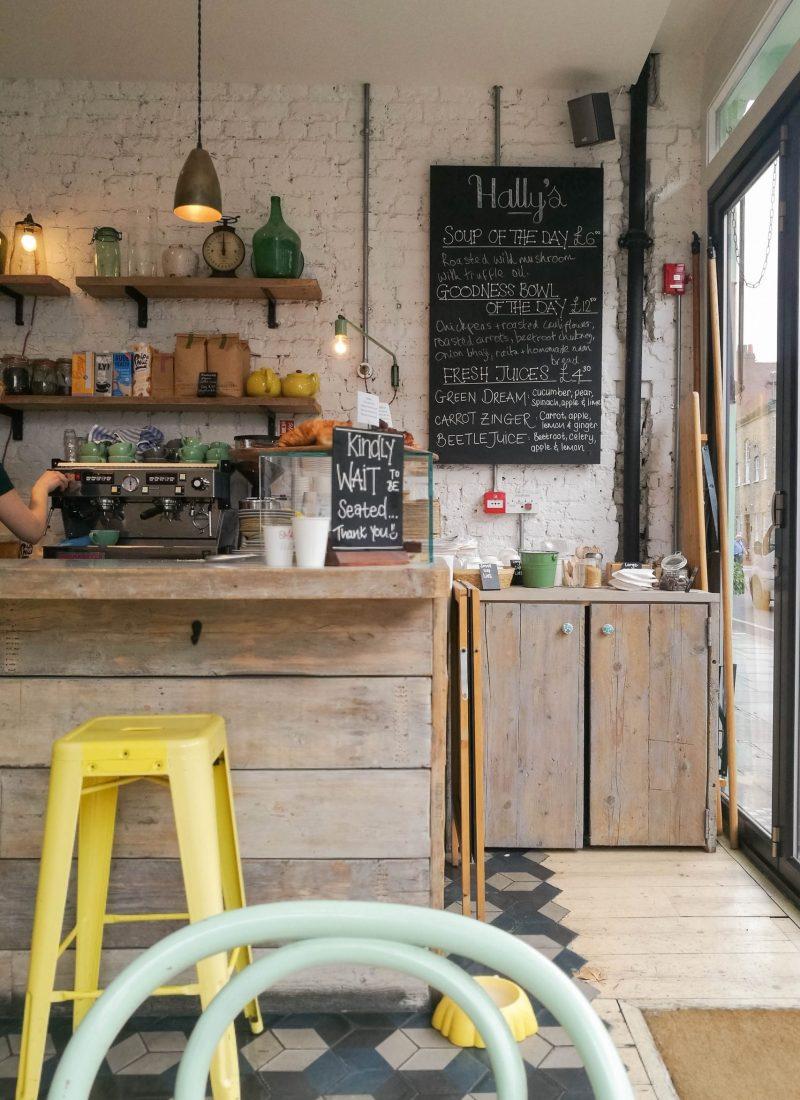 Exploring London: Hally's
