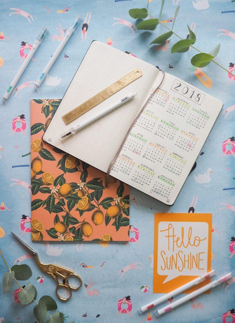 Bullet Journalling 101: Setting Up Your Bullet Journal