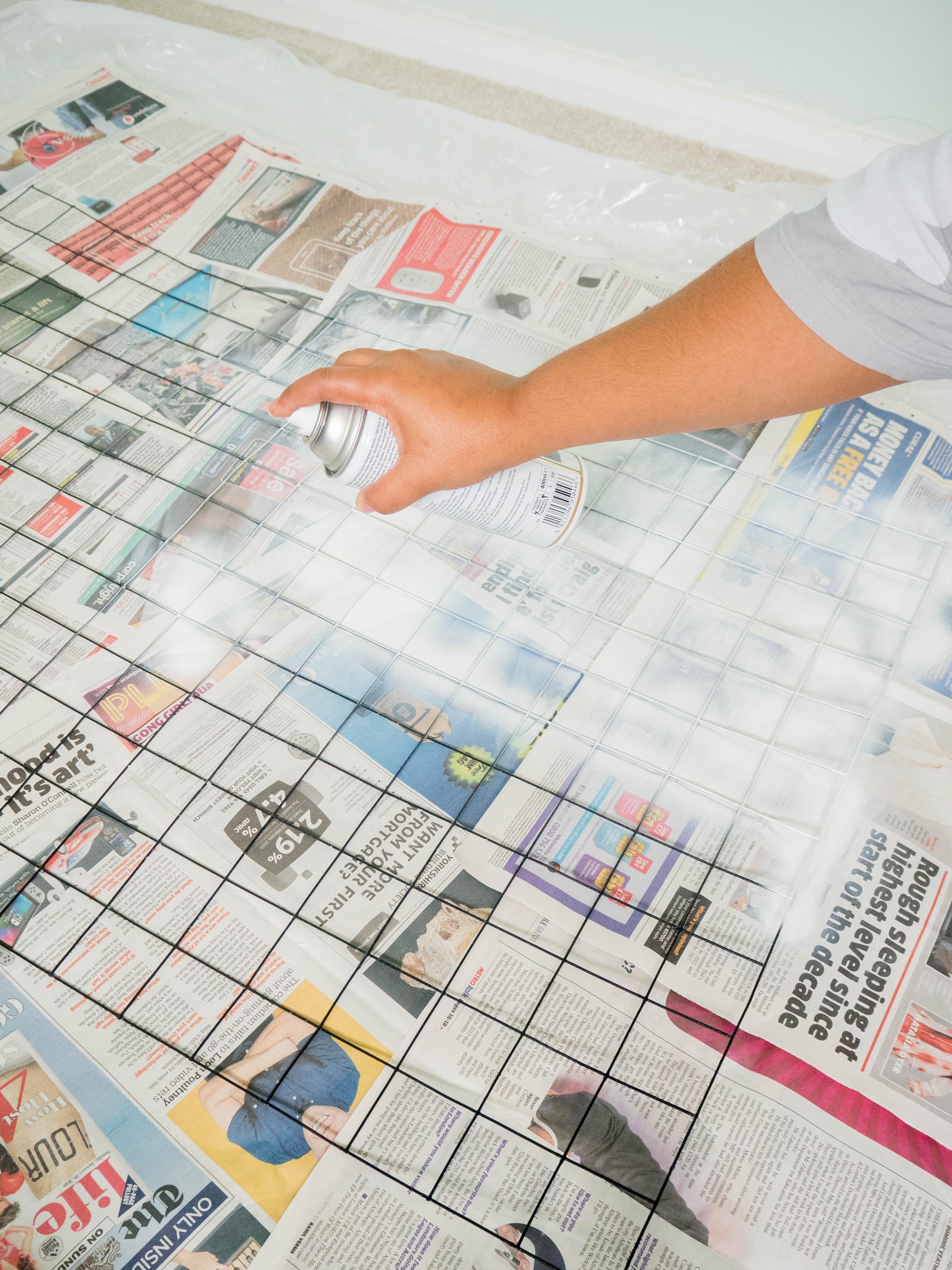 Ghenet Actually || A DIY Memo Board
