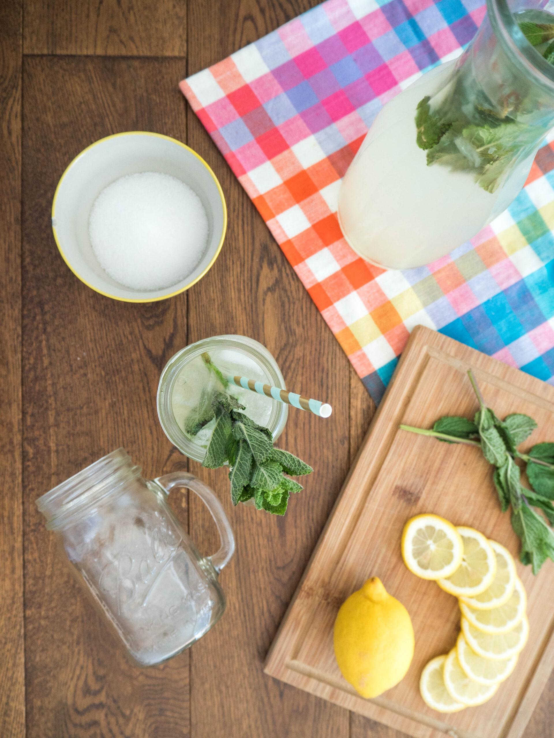 Ghenet Actually    Summery Mint Lemonade