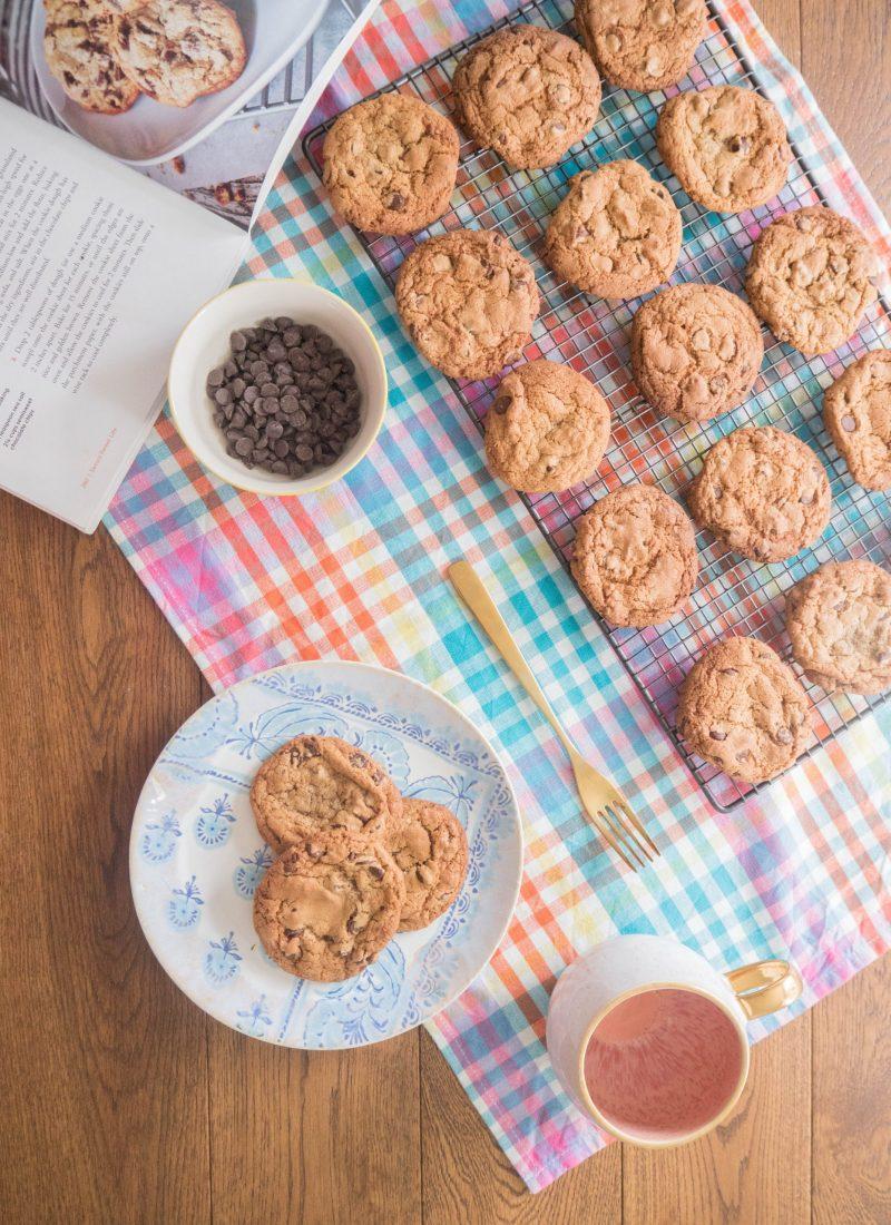 Recipe    Rainy Day Chocolate Chip Cookies