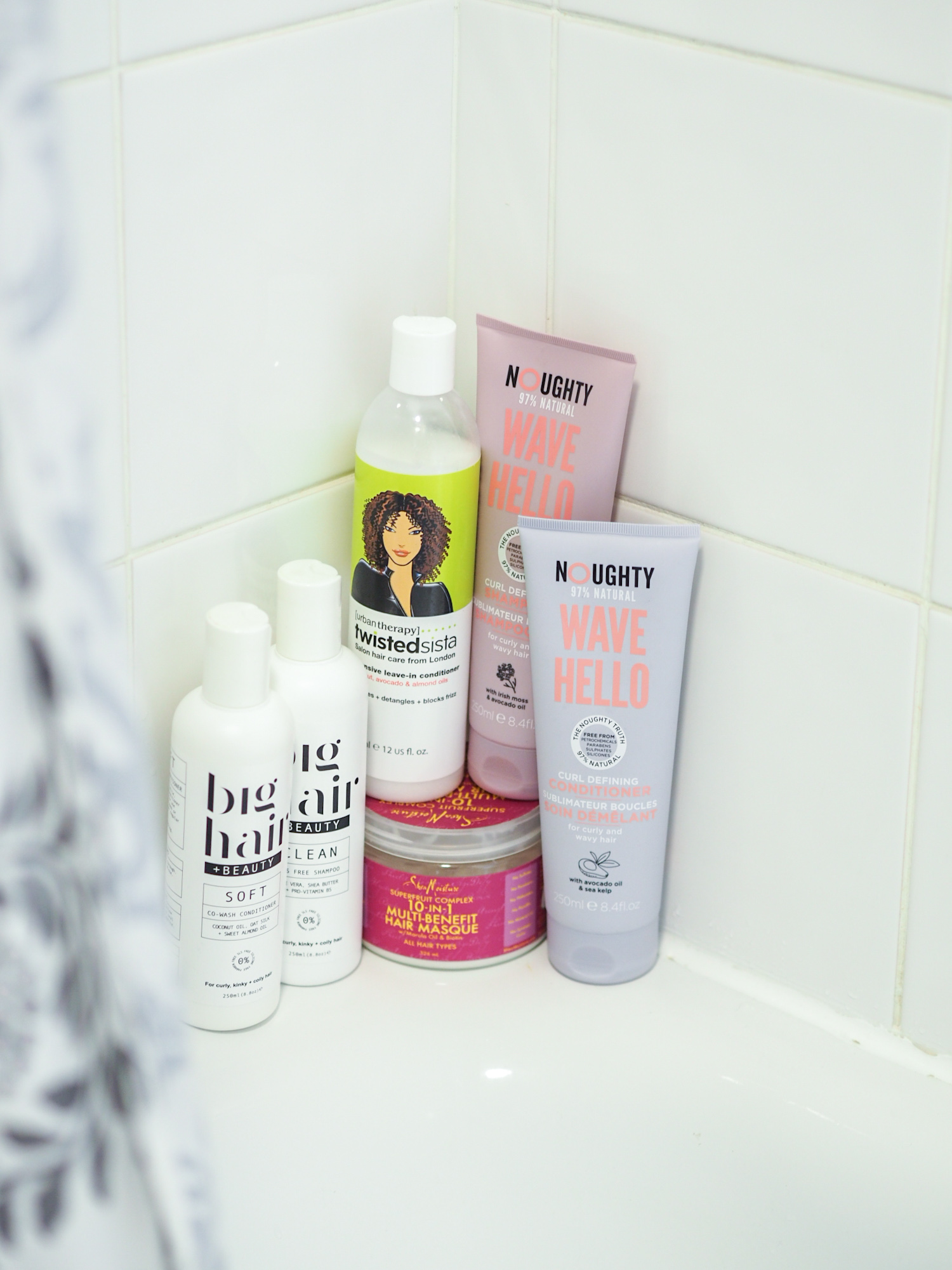 Ghenet Actually || The Curly Hair Products Currently on My Shelf