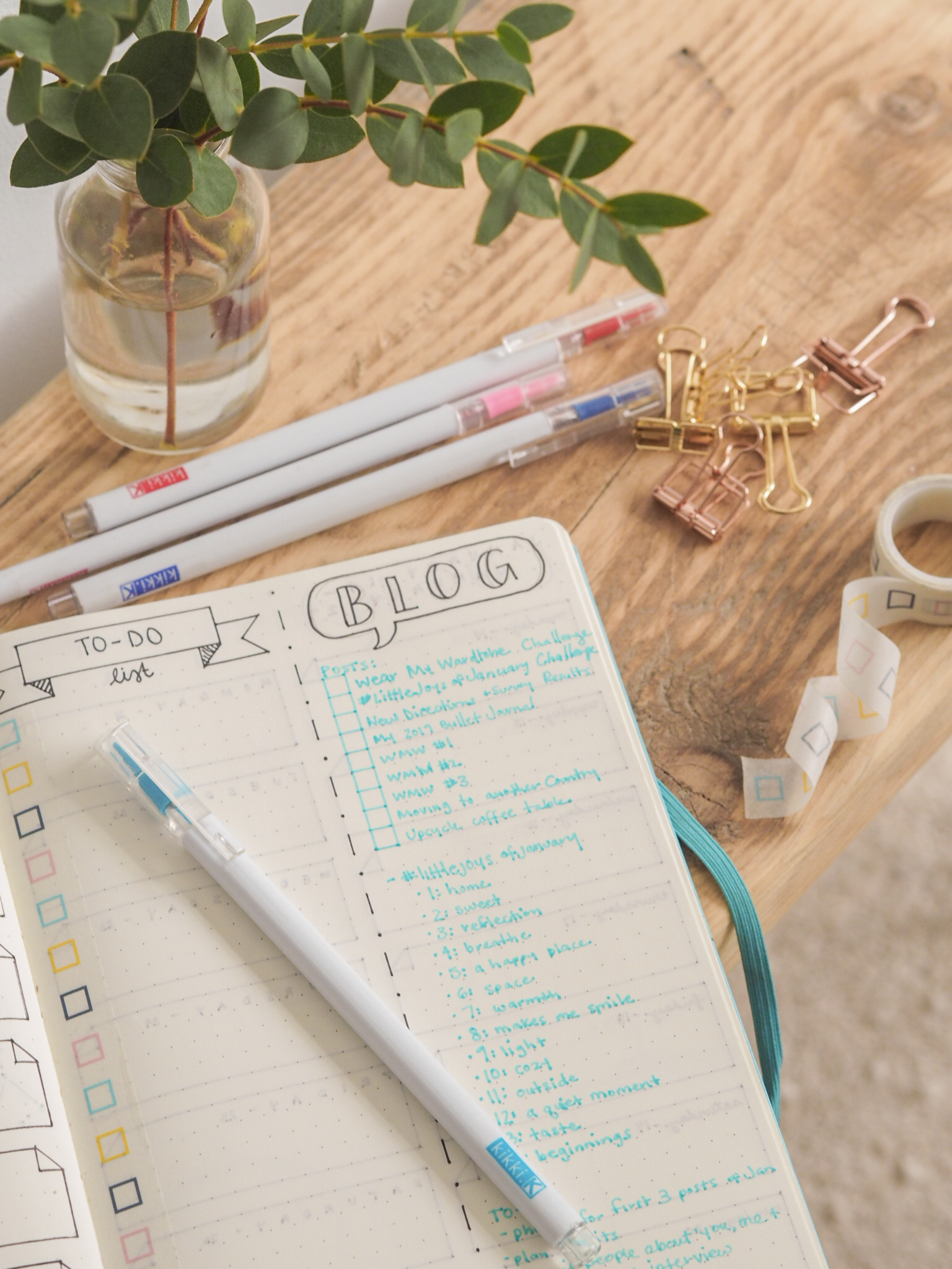 Ghenet Actually || Bullet Journal Updates for 2019