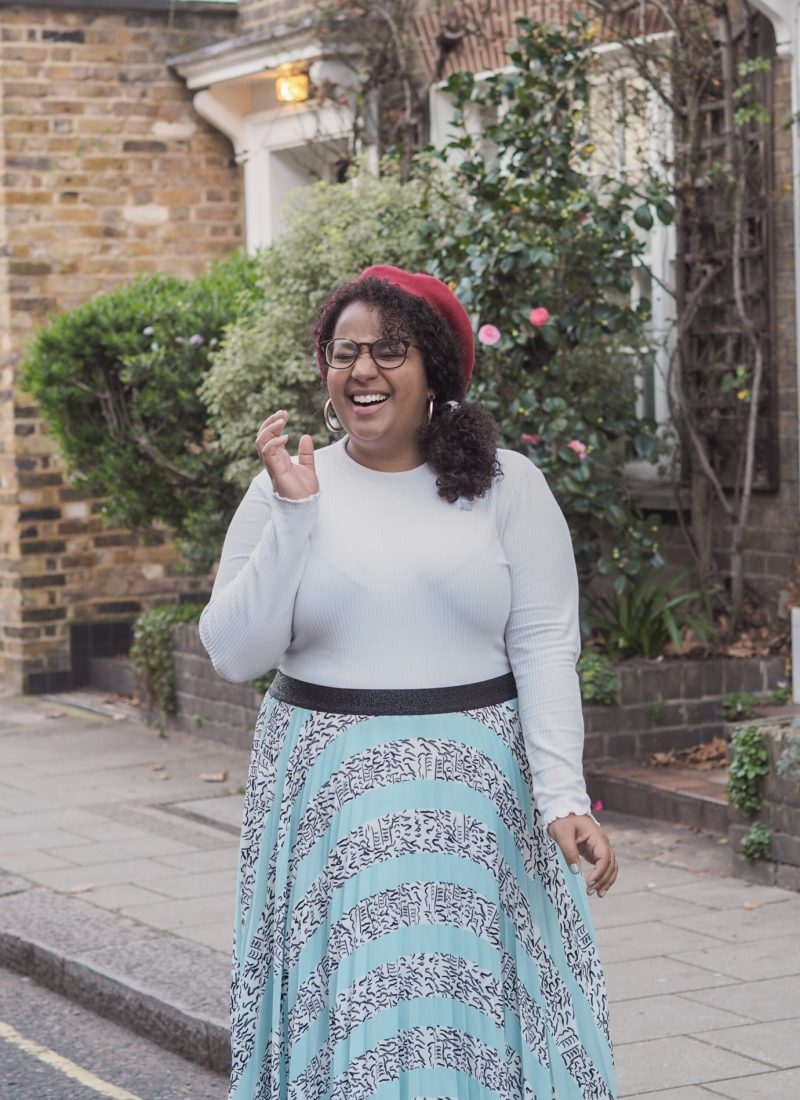 The WMW Challenge: Floaty Skirts and Roll Necks
