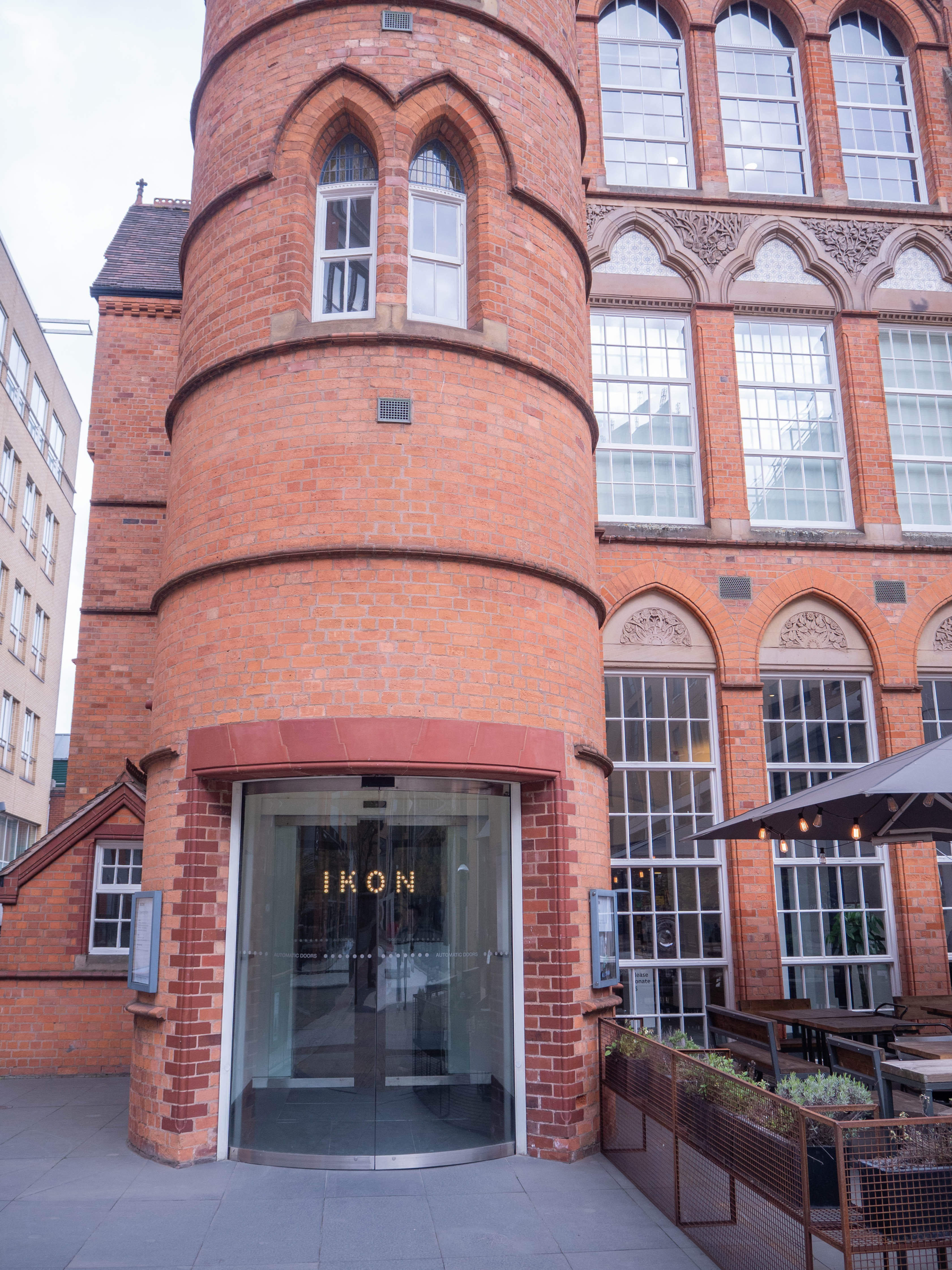 The exterior of Ikon Gallery
