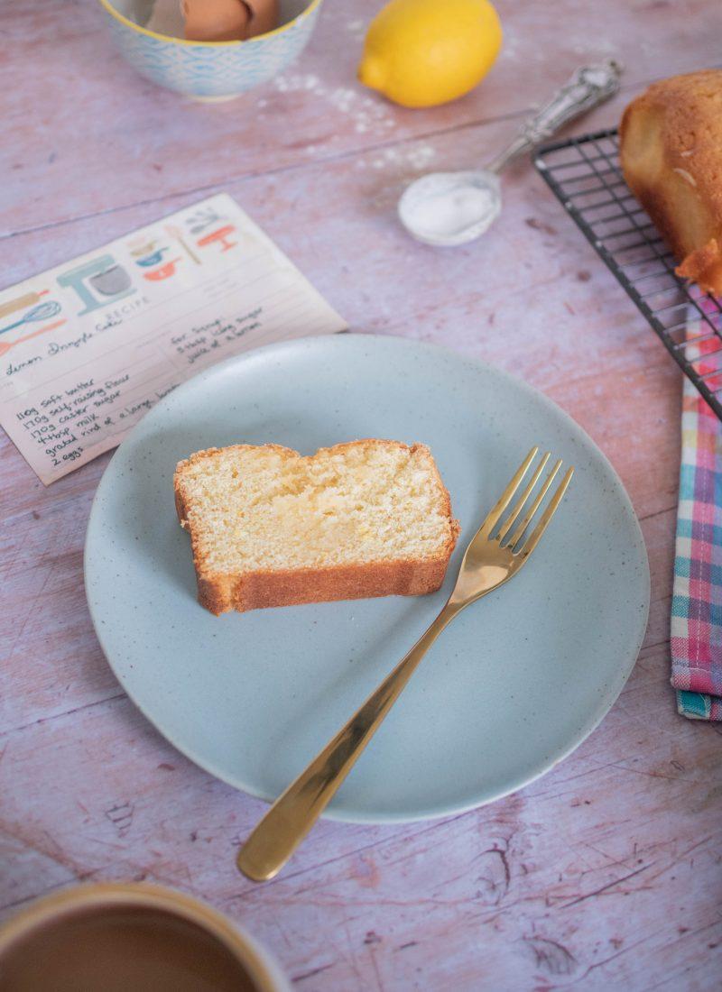 Recipe    Lemon Drizzle Cake