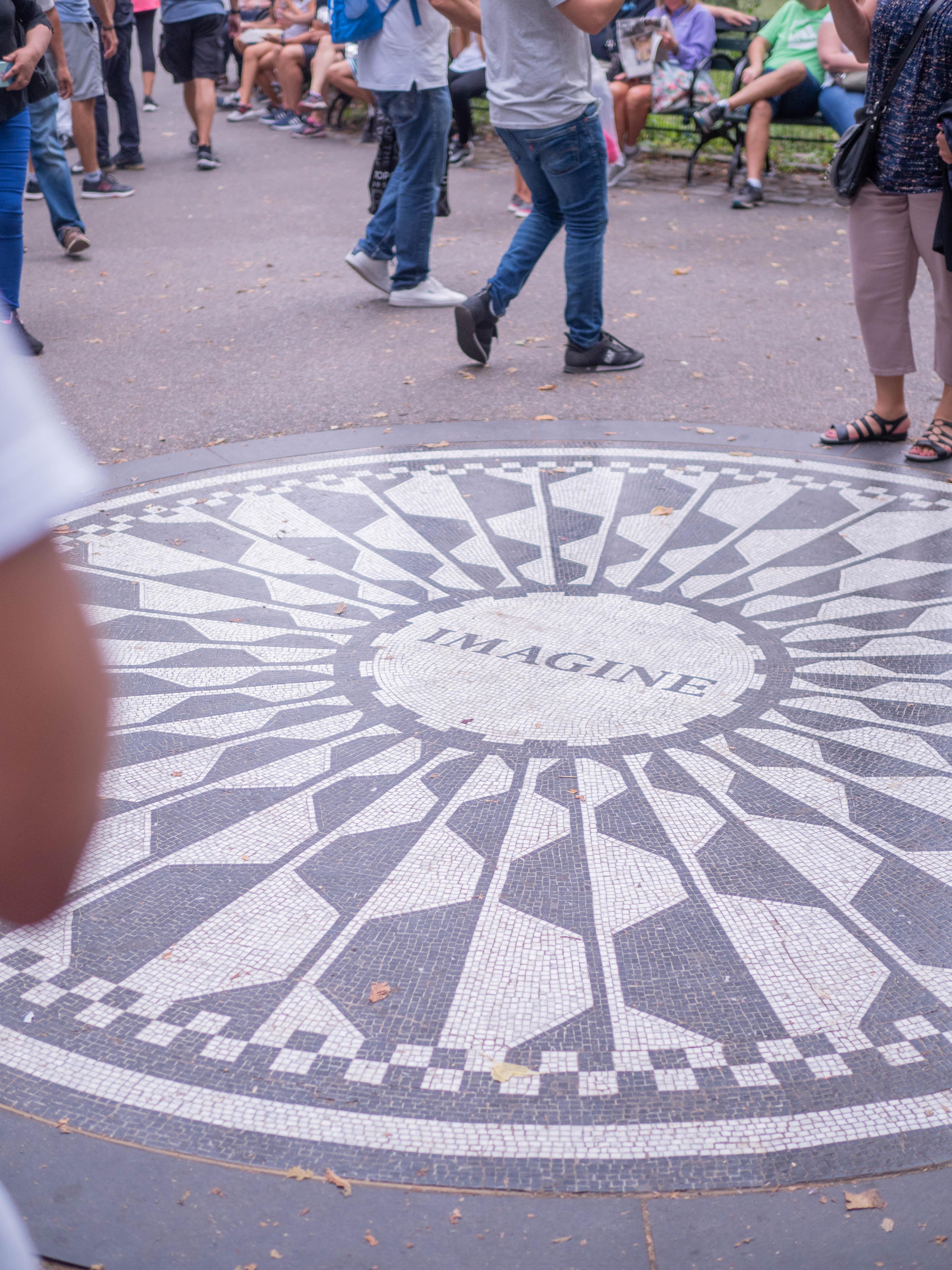 Strawberry Fields, inspired by John Lennon