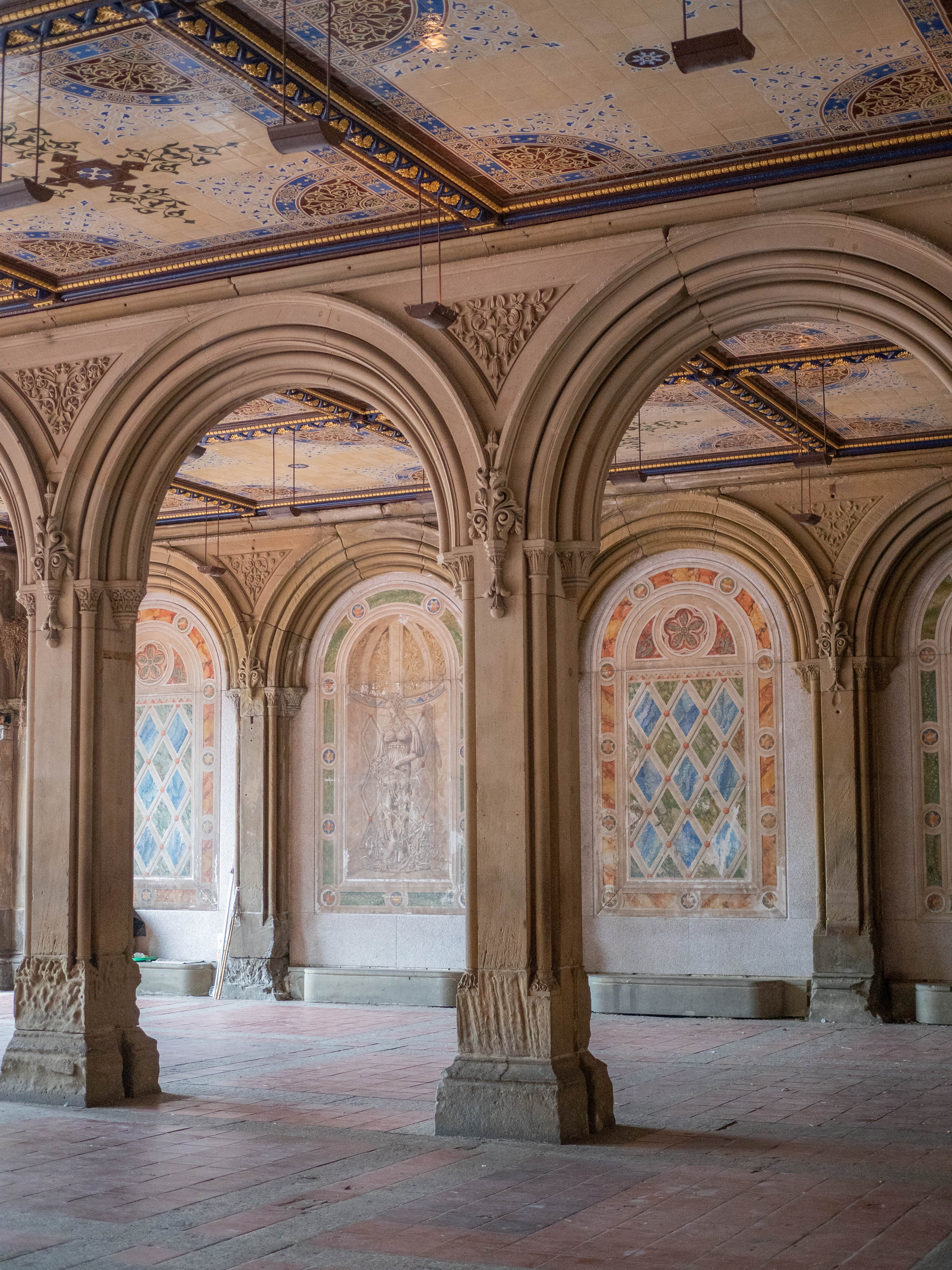 Bethesda Terrace in Central Park, NYC