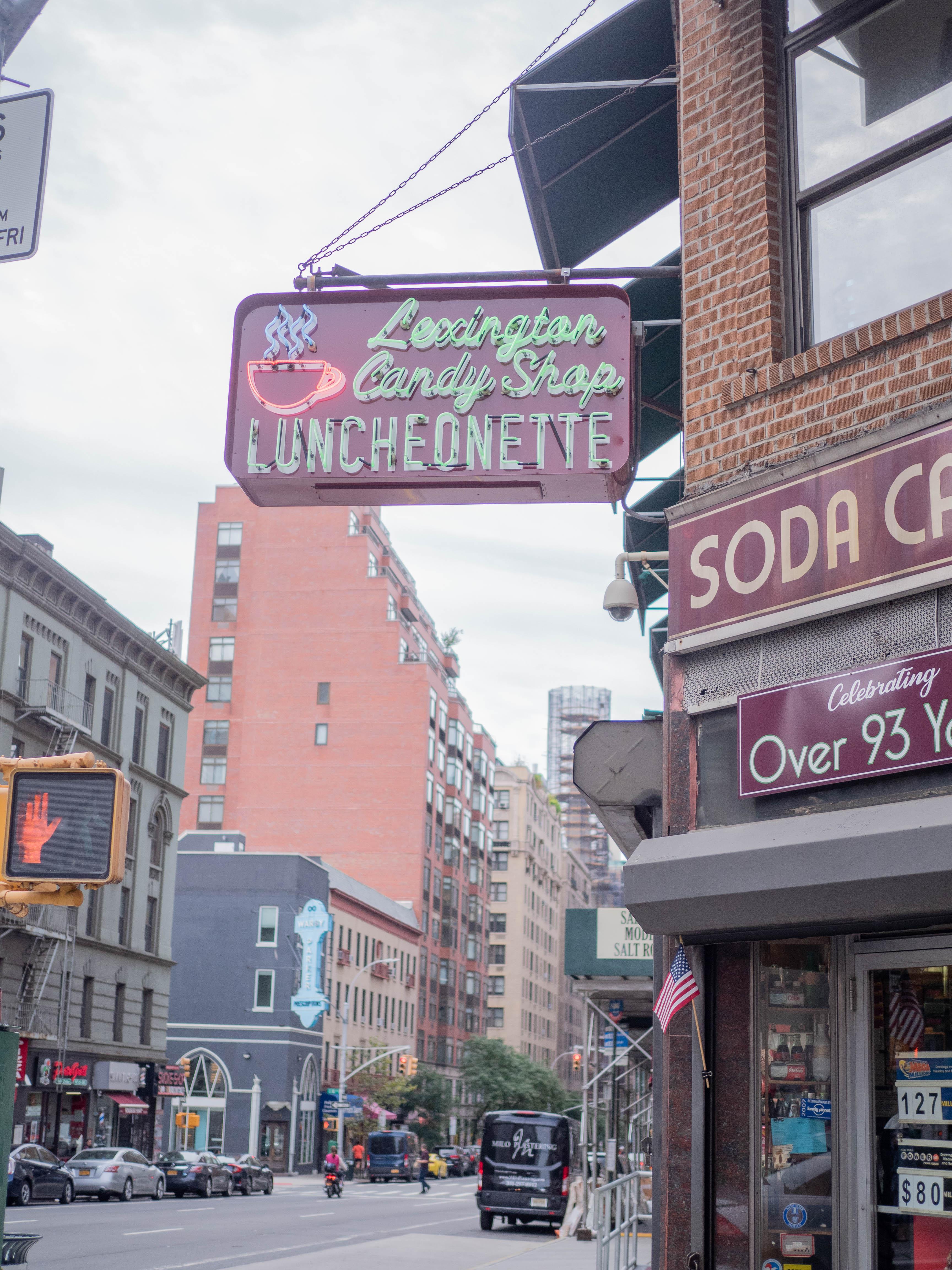 Lexington Candy Shop, a classic NYC diner