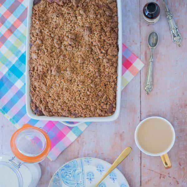 Recipe || American Style Coffee Cake