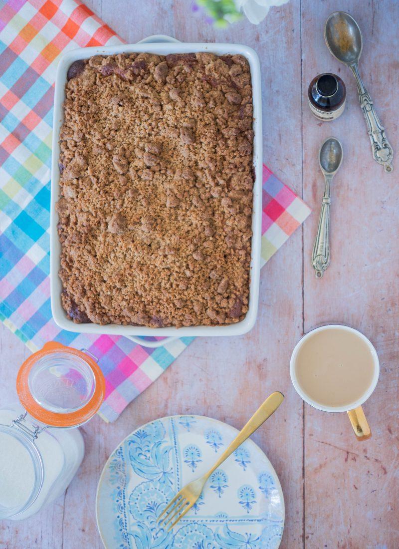 Recipe    American Style Coffee Cake